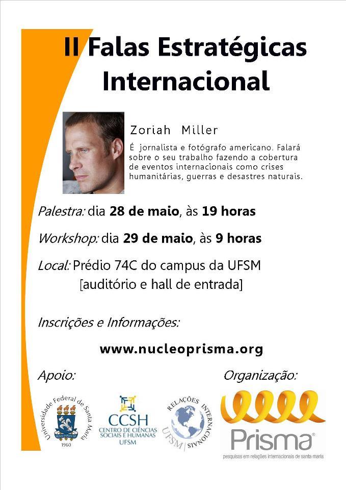 Zoriah Lecture Brazil